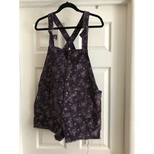 Free People / cord / shorts overall